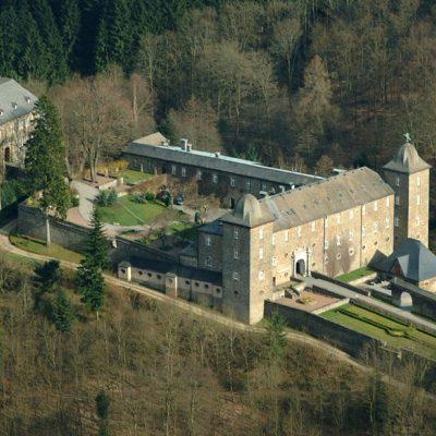 Burg-Luftaufnahme