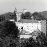 Burg um 1956