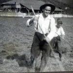 Bauer Norbert auf dem Hollerbrink