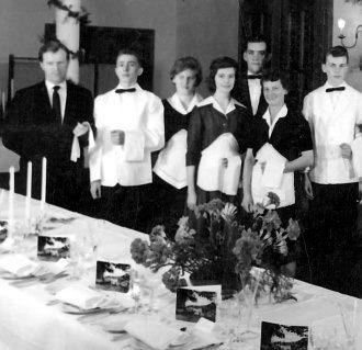 Serviceteam um 1960