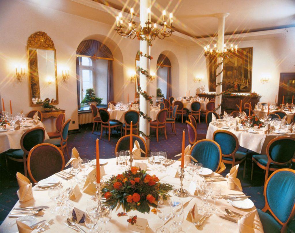 Hochzeit und Bankett - Tafel - Burg Schnellenberg