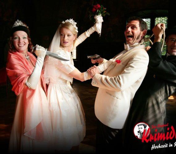 Krimidinner: Die Hochzeit in Schwarz