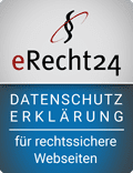 eRecht24 – Datenschutz – für rechtssichere Webseiten