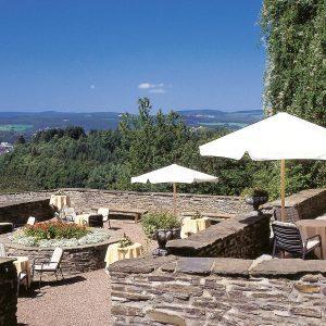 Hotelbar-Terrasse