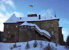 Jahreswechsel auf Burg Schnellenberg