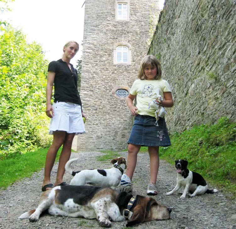 Urlaub mit Hund auf Burg Schnellenberg
